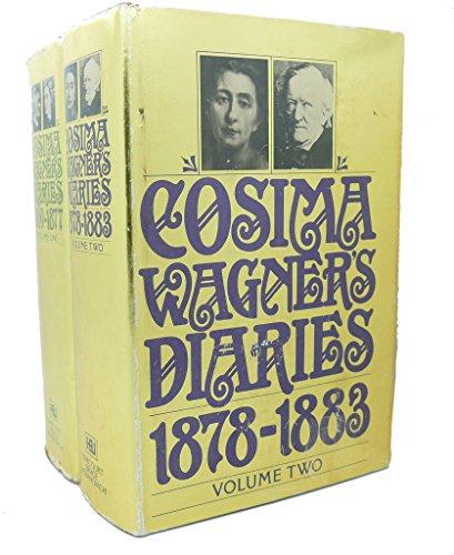 9780151226368: Cosima Wagner's Diaries; Volume 2 1878-1883