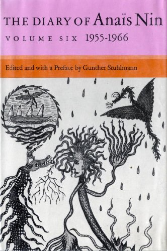 9780151255948: The Diary of Anais Nin, Vol. 6: 1955-1966