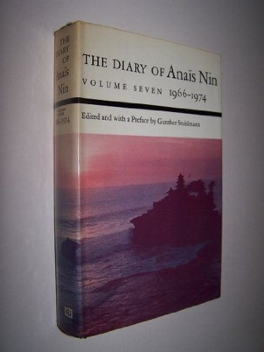 9780151255962: The Diary of Anais Nin: 1966-1974