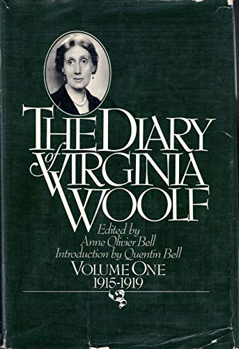 9780151255979: THE DIARY OF VIRGINIA WOOLF, VOLUME ONE 1925-1919