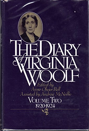 9780151255986: The Diary of Virginia Woolf, Vol. 2: 1920-1924