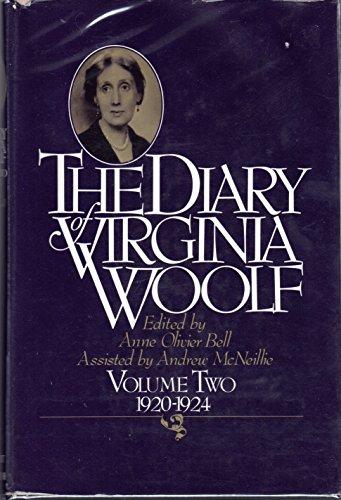 9780151255986: The Diary of Virginia Woolf. Vol. II 1920-1924