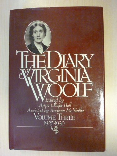 9780151255993: Diary of Virginia Woolf Volume 3 1925 1930