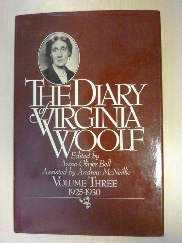 9780151255993: The Diary of Virginia Woolf, Vol. 3: 1925-30