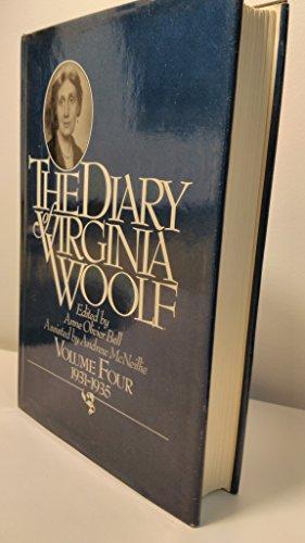 9780151256020: The Diary of Virginia Woolf, Vol. 4: 1931-1935