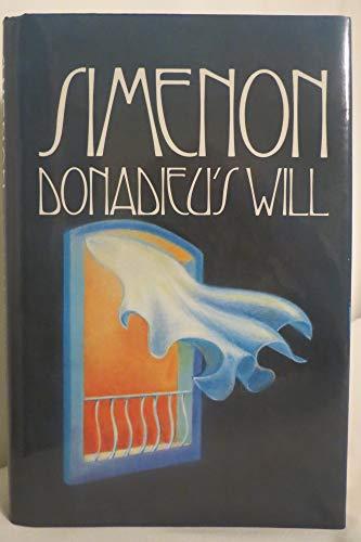 Donadieu's Will: Georges Simenon