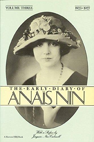 9780151271849: The Early Diary of Anais Nin, Vol.3, 1923-1927