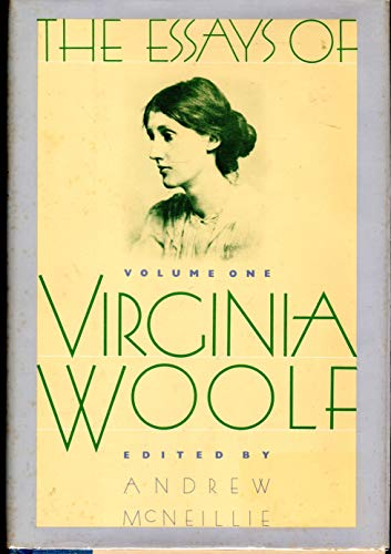The Essays of Virginia Woolf, Vol. 1: 1904-1912 (0151290555) by Virginia Woolf