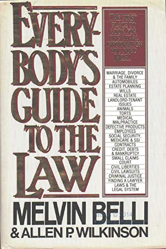 Everybody's Guide to Law