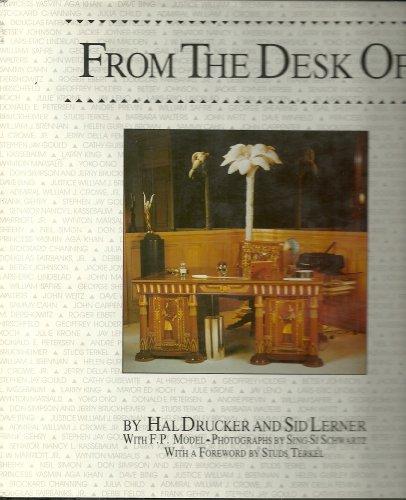 From the Desk of: Drucker, Hal; Lerner,