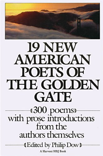 9780151364183: 19 New American Poets of the Golden Gate