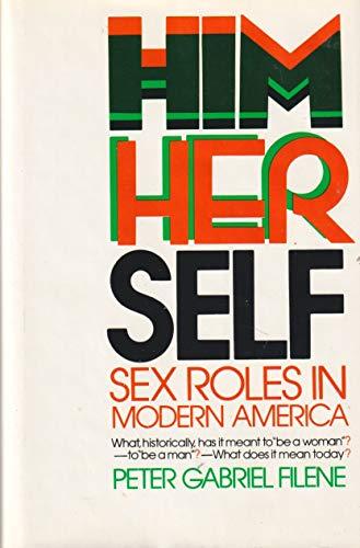 9780151402700: Him/her/self: Sex roles in modern America