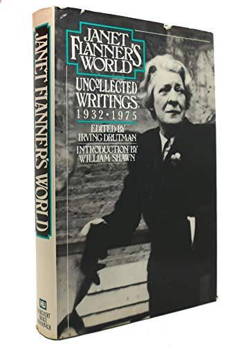 9780151461547: Title: Janet Flanners World Uncollected Writings 19321975