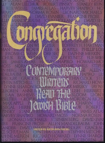 9780151463503: Congregation: Contemporary Writers Read the Jewish Bible