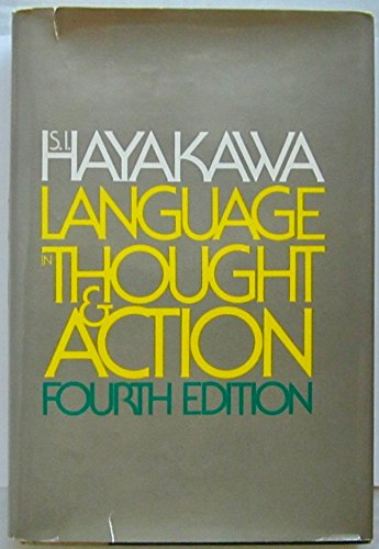 9780151481125: Language in Thought and Action