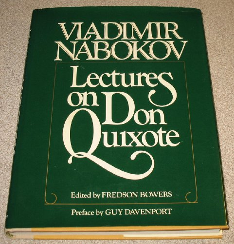 9780151495955: Lectures on Don Quixote