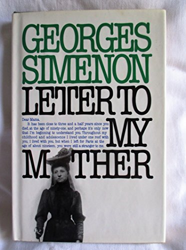 9780151504459: Letter to My Mother