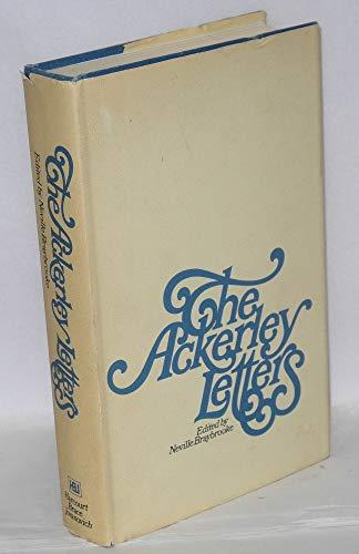 The Ackerley Letters: R. , Ackerley J. /braybrooke Neville