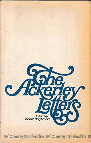 Stock image for The Ackerley Letters for sale by Better World Books