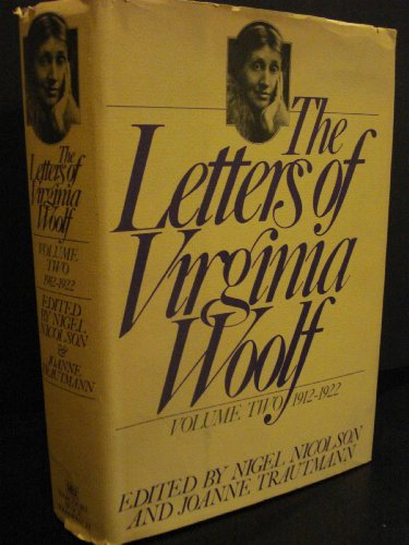 9780151509256: The Letters of Virginia Woolf, Vol. 2: 1912-1922