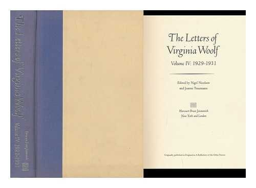 9780151509270: The Letters of Virginia Woolf, Vol. 4: 1929-1931