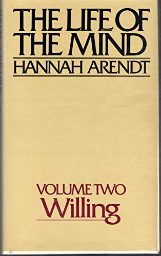 9780151518968: The Life of the Mind: Volume Two, Willing