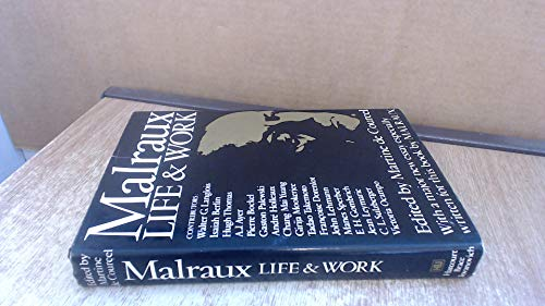 9780151562800: Malraux: Life and Work