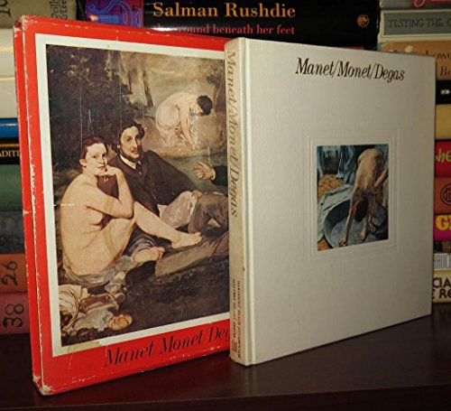 9780151568505: Manet, Monet and Degas (Masters of Art)