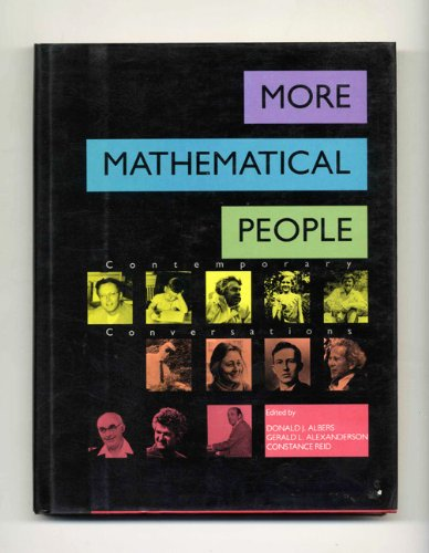 9780151581757: More Mathematical People Contemporary Conversations