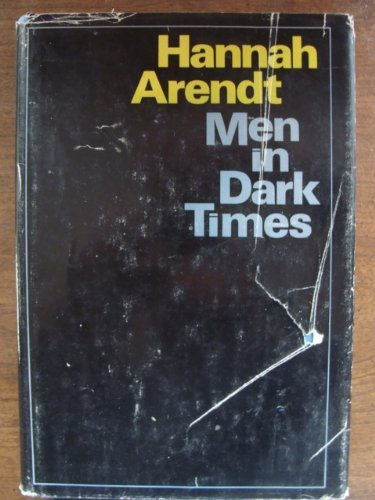 9780151591473: Men in Dark Times.