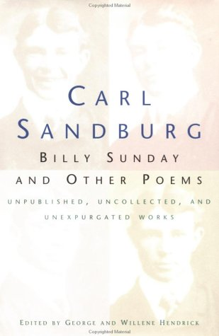 9780151621309: Billy Sunday And Other Poems