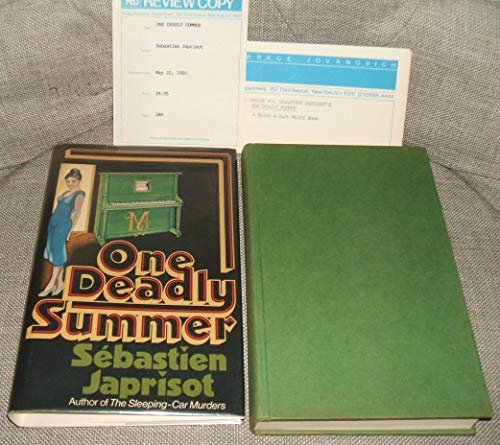 9780151693818: One deadly summer