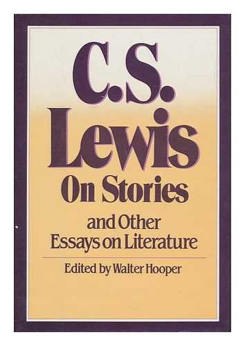 9780151699643: On stories, and other essays on literature