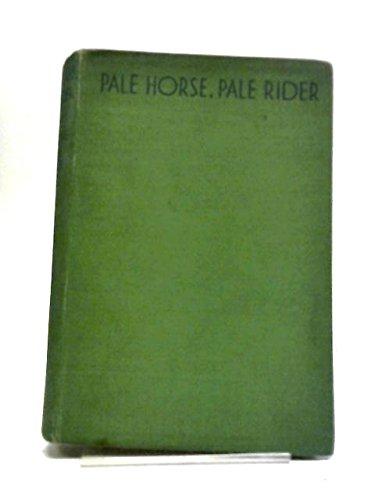 9780151707508: Pale horse, pale rider: Three short novels