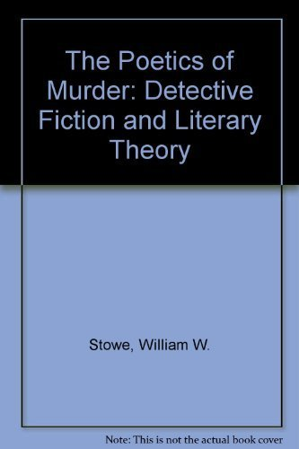 9780151722808: The Poetics of Murder: Detective Fiction and Literary Theory