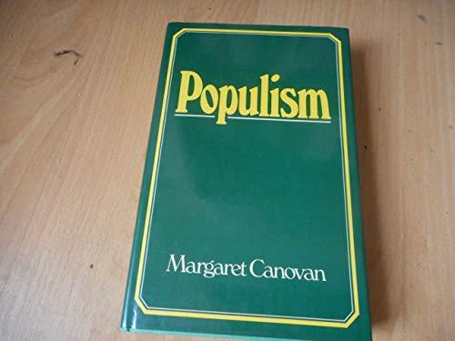9780151730780: Populism