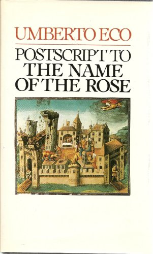 9780151731565: Postscript to the Name of the Rose