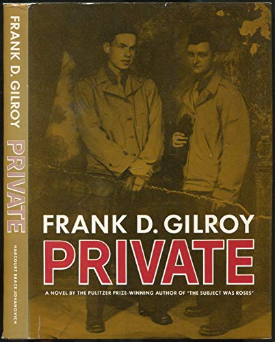 Private: Gilroy, Frank Daniel
