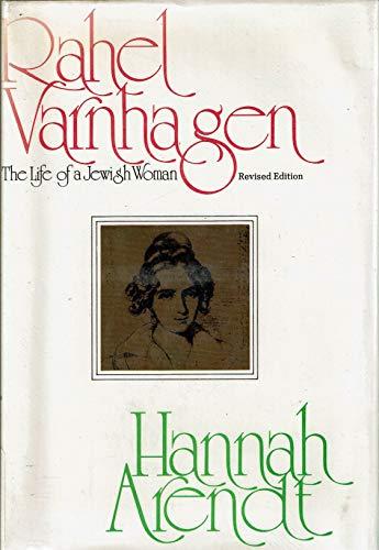 9780151758500: Title: Rahel Varnhagen The life of a Jewish woman