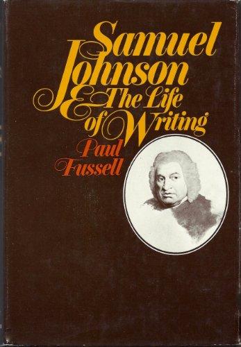 9780151792665: Samuel Johnson : The Life of Writing