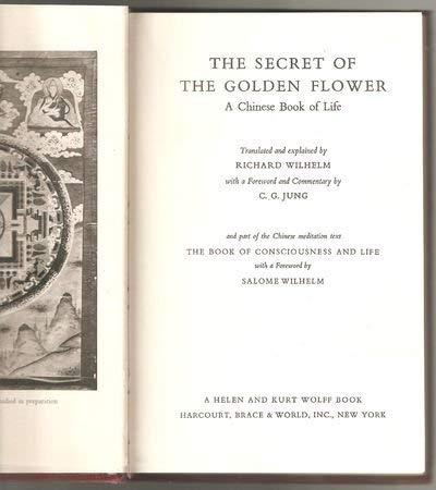 Secret of the Golden Flower: Richard Wilhelm (Translated