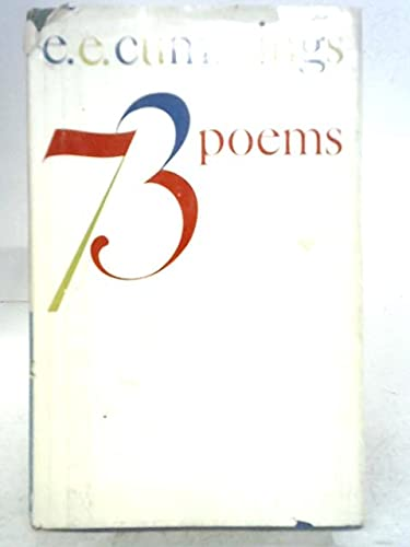 Stock image for Seventy-Three Poems for sale by Better World Books
