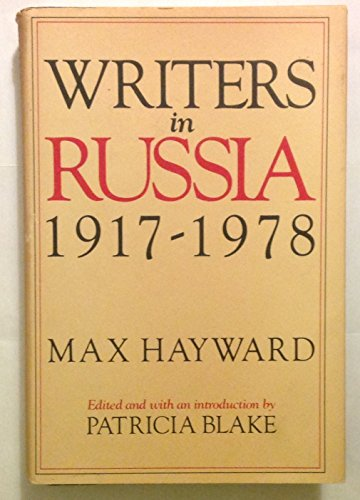 9780151832781: Writers in Russia: 1917-1978