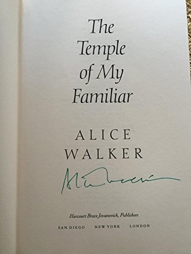 The Temple of My Familiar: A Novel: Walker, Alice