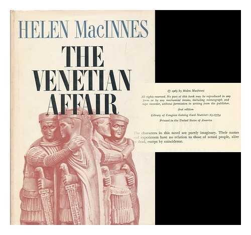 9780151935017: Venetian Affair