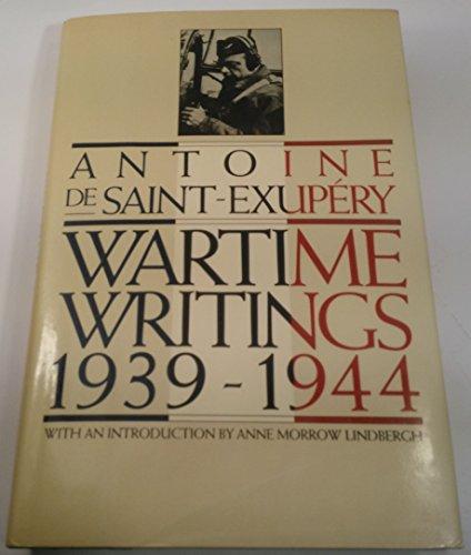 9780151946808: Wartime Writings 1939-1944