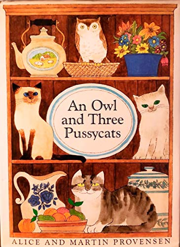 9780152001834: An Owl and Three Pussycats