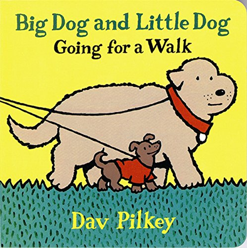9780152003524: Big Dog and Little Dog Going for a Walk (Big Dog and Little Dog Board Books)