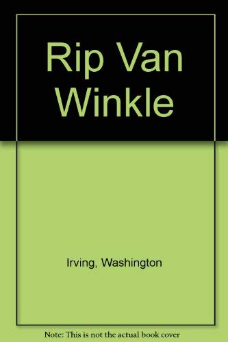 Rip Van Winkle (0152009272) by Washington Irving