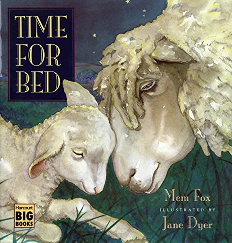9780152010140: Time for Bed (Big Book Edition)